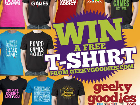 Contest Alert! Win a FREE T-shirt!