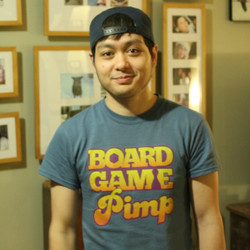 Board Game Pimp T-shirt | Mark F.