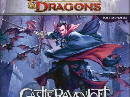 Contest Alert! Win a copy of the Dungeons and Dragons Castle Ravenloft Board Game