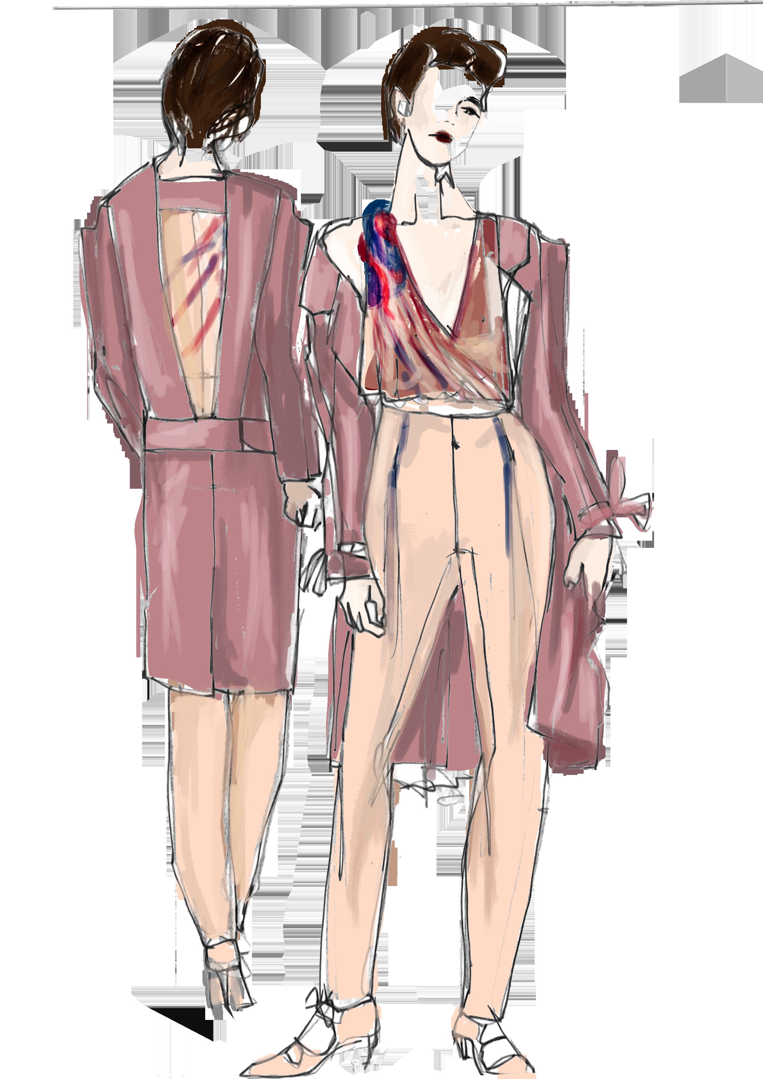 Fashion Illustration Inbalweiss