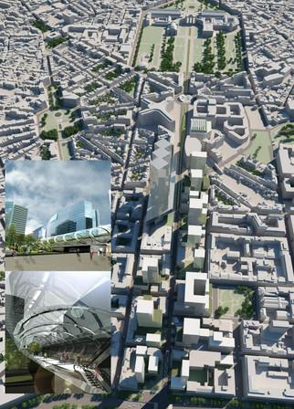 RUE DE LA LOI _ town planning