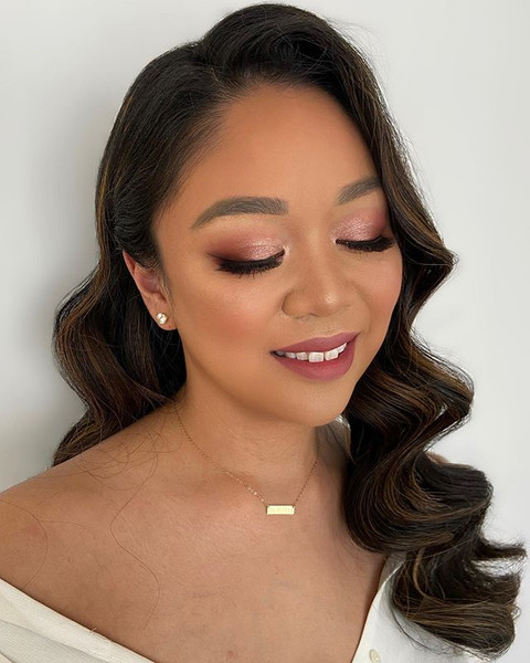 🥳Engagement makeup and hair for Evita!