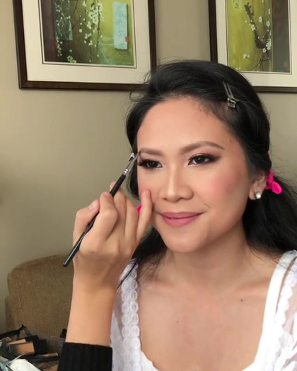 Perfecting the brow 💕 Video helps to sh