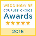 Weddingwire couples' choie awards, couples choice award, wedding wire,