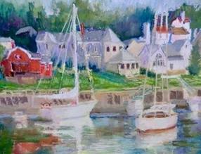 Boats Resting in Harbor