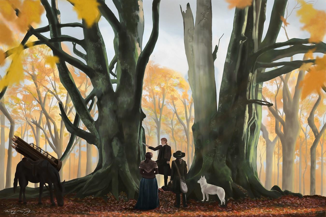 Outlander illustration