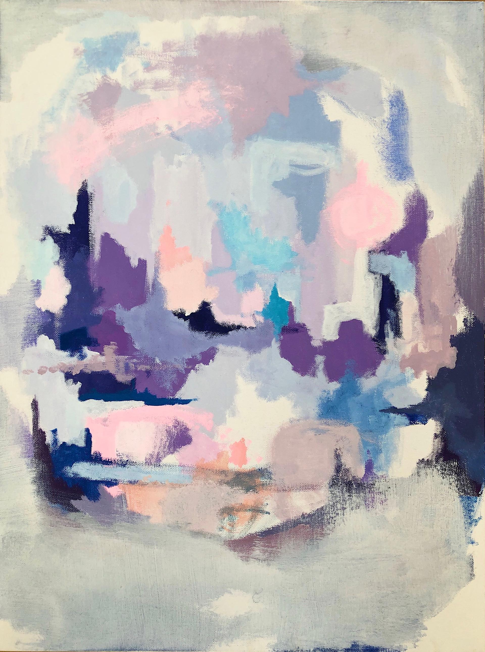 untitled. acrylic on canvas. 18x24.