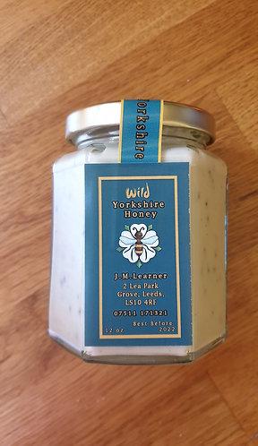 Raw Honey with Bee Pollen