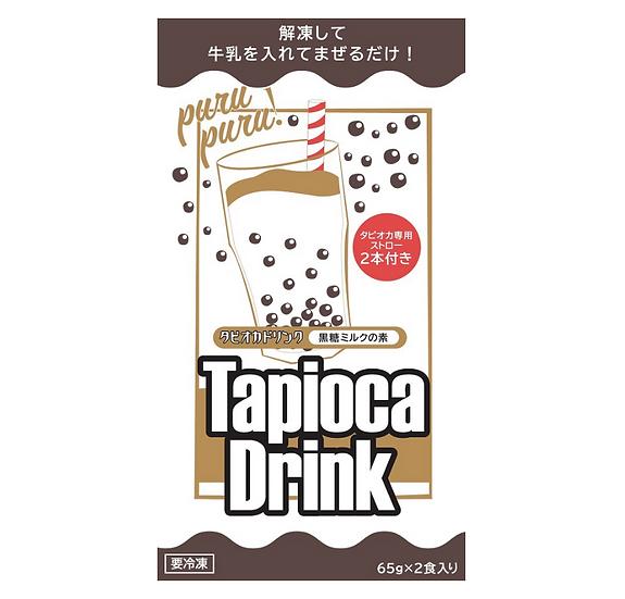 RB TapiocaDrink 黒糖ミルク 6袋セット (12食入)