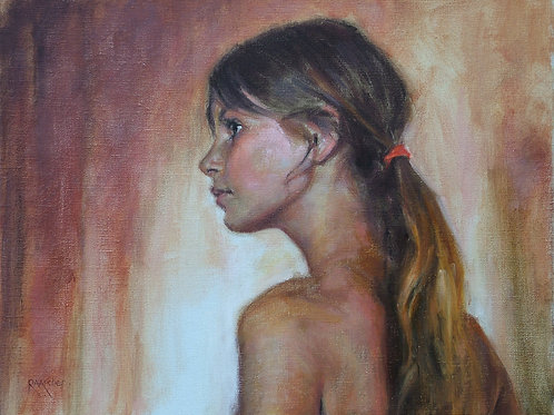 Girl with a Ponytail