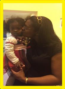 Niasha Fray and daughter Mali