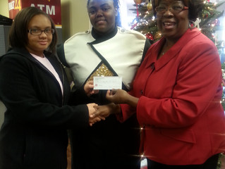 """""""RVBCC Receives Donation from Girls in Pink:"""