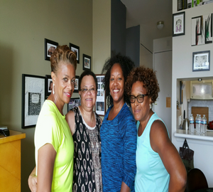 Saturday Brunch in the Upper East Side…                                                                                                                         Left to Right:  Edna, Felecia, Orentha and Linda