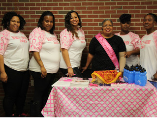 Phyllis Chavis, Roanoke Valley Breast Cancer Coalition and the members of #ICANRELATE.