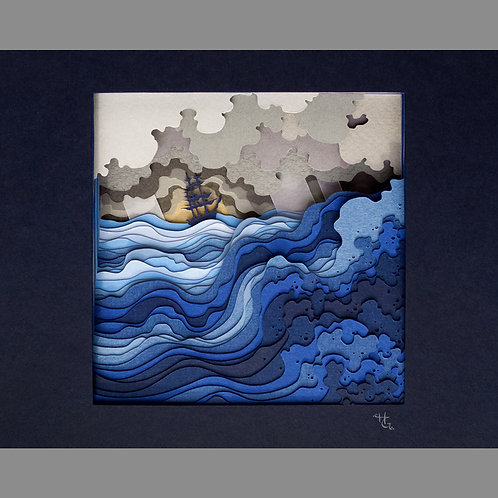 A Gift For Our Sea From the Sky (8x10 Giclee Print)