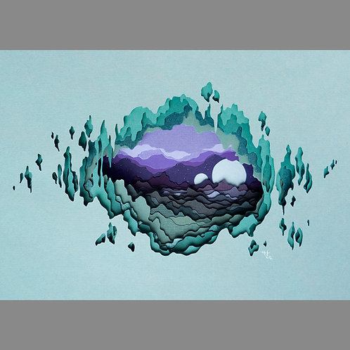 Nocturnal Vista (Giclee Print)