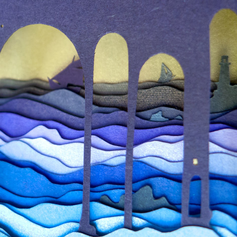 We Leave With the Morning Tide (detail)