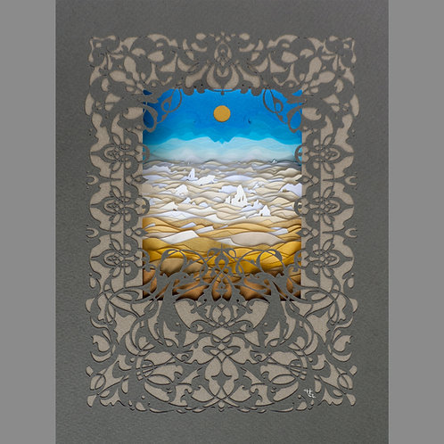 Dancing Rhythm Of the Dunes (Giclee Print)