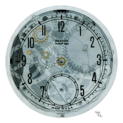 Clockworks (Giclee Print)