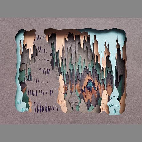 Subterranean Sanctuary (Giclee Print)
