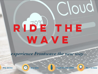 Frontwave Cloud is Launched!