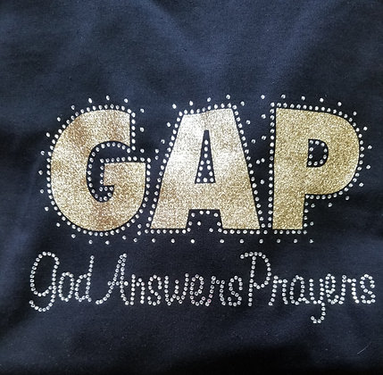 Gap Hoodie - God Answers Prayers