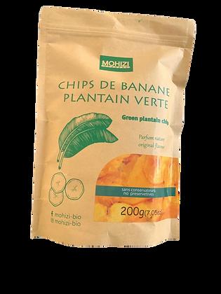 Chips de bananes plantain | 200 grammes