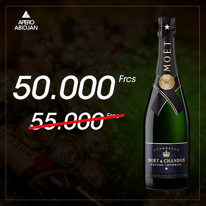 Champagne Moet et Chandon Nectar impérial