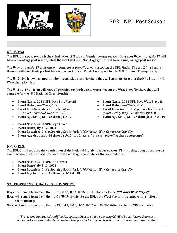 NPL Post Season - Southwest NPL.jpg