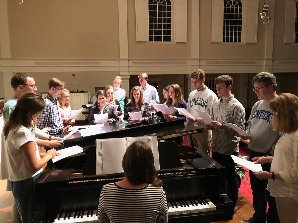 Capital Fellows - Monday night worship at Roundtable