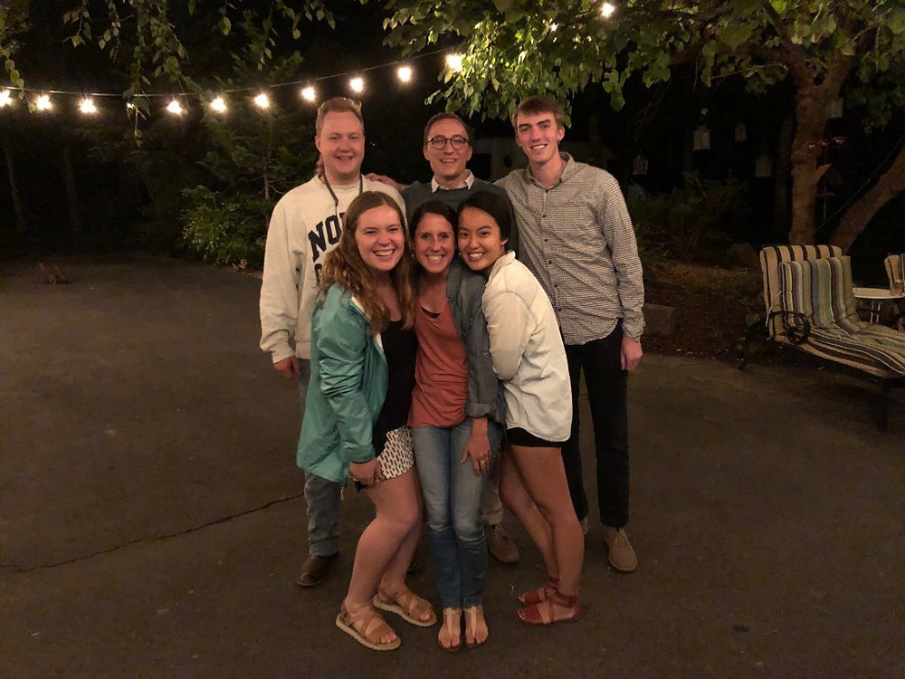 Capital Fellows hang out on Saturday nights!