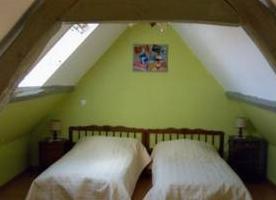 Chambre deux lits, gite n°1