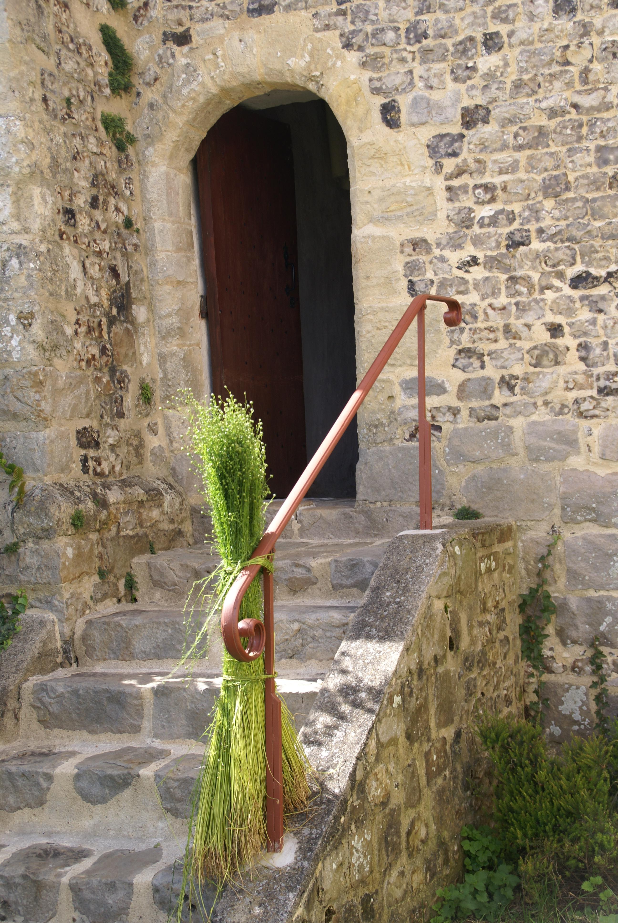 Entré de la chapelle Saint-Julien