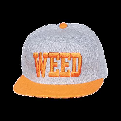 HF134W | Flat Bill Marijuana