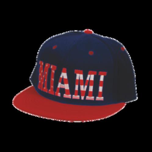 CHB704 | Flat Bill Name Drop Hat