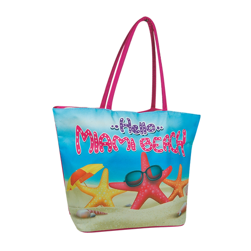 BB36 | Polyester Printed Beach Bag