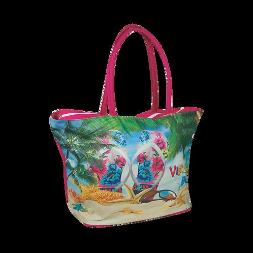 BB37 | Polyester Printed Beach Bag