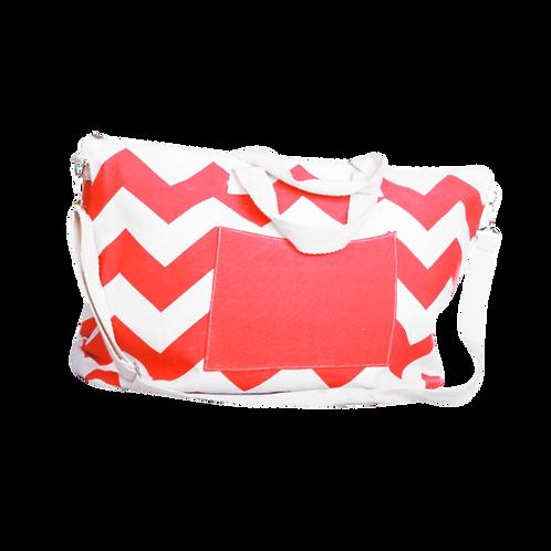 B375C | Name Drop Canvas Tote Bag