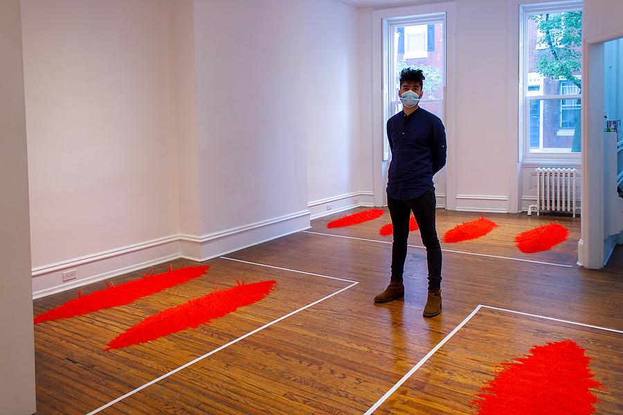 Vicente Ortiz Cortez - contemporary Mexican artist - queer gay art - philadelphia new york