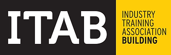 The ITAB company Logo with a highlight to the construction video