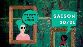 """""""Partage et transmission"""" Edito de la saison 20/21"""