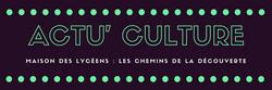 Actu' Culture