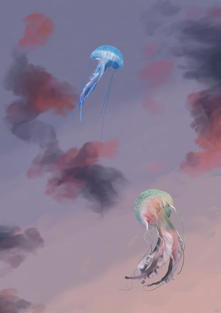 Jellyfish Fly & Fly Away