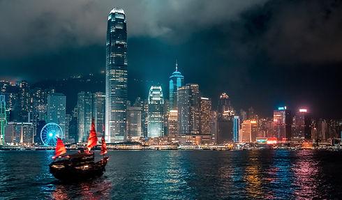 Hong Kong Victoria Harbor night view.jpg