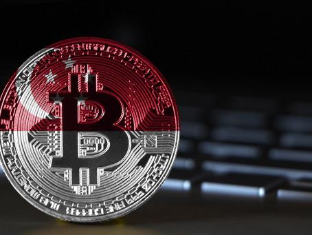 Trasferire BTC e cripto all'estero , Singapore