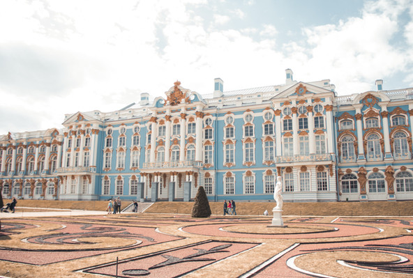 Екатерининский дворец, Санкт-Петербург.j