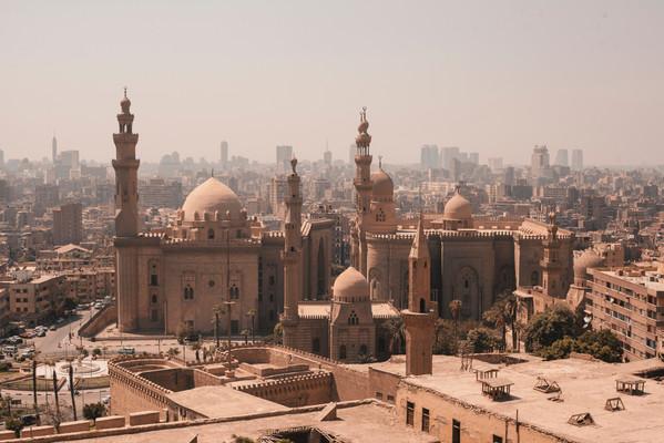 Архитектурные достопримечательности Каир