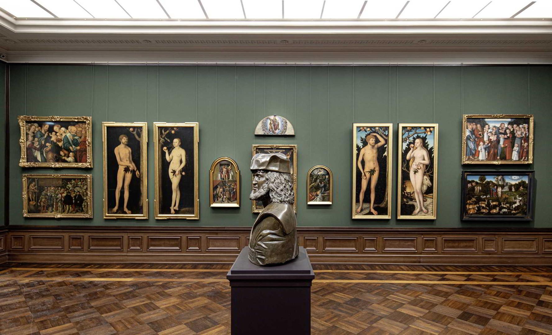 Берлинская картинная галерея в Германии.