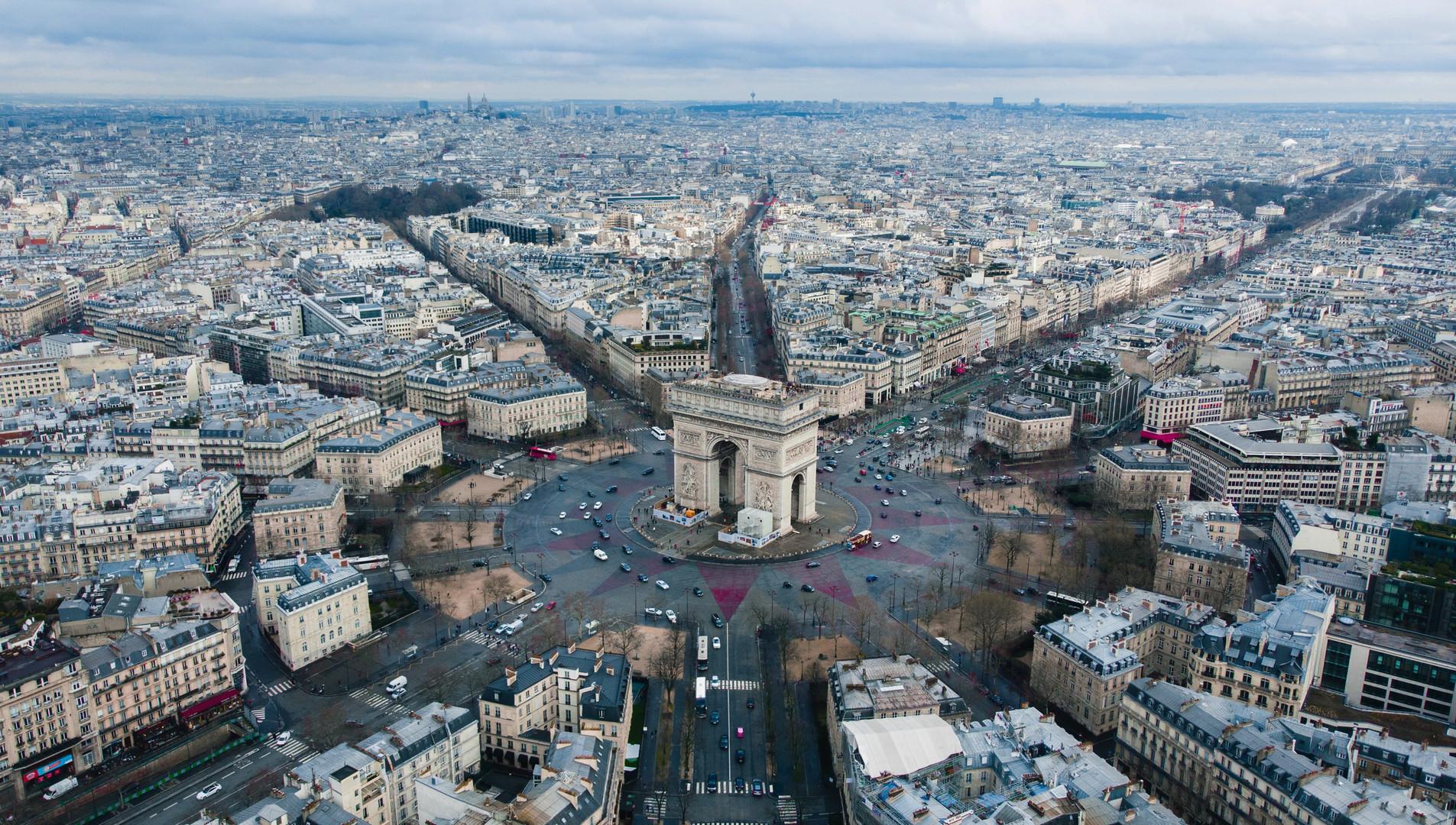 Районы Парижа, Триумфальная арка.jpg