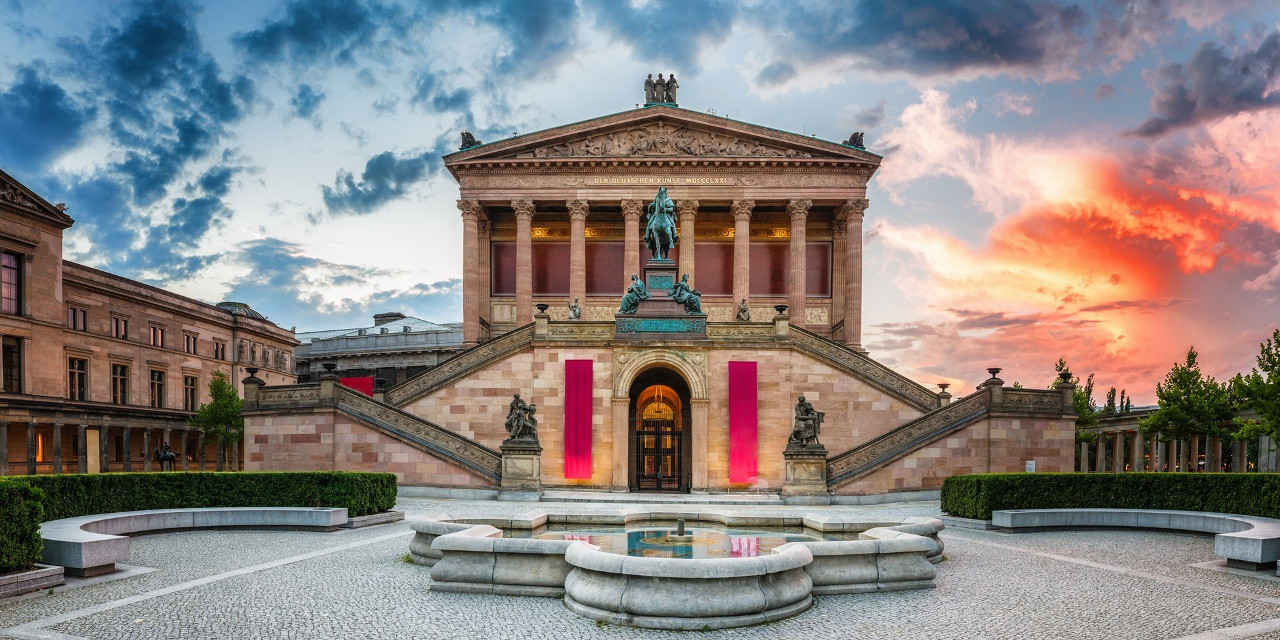 Старая Национальная Галерея на Музейном